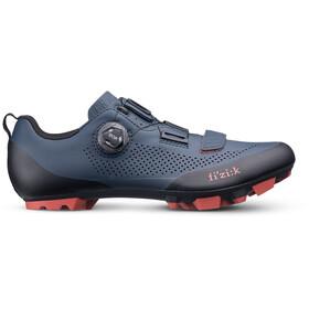 Fizik Terra X5 MTB Schuhe Herren dunkel blau/brick rot